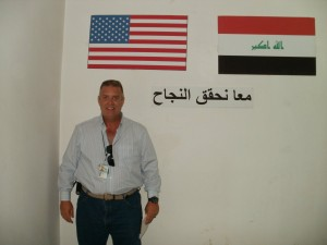Patrick T. Coffey in Iraq