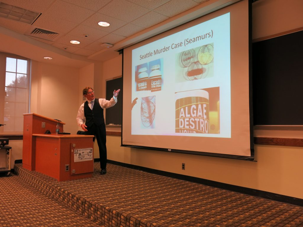 Drew Richardson speaking at Georgetown University